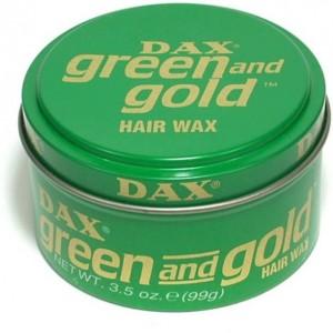 DAX WAX - Green & Gold- 100g