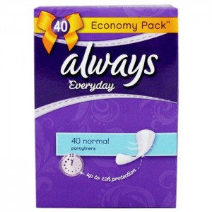 ALWAYS DAILY USE- FRESH NORMAL-40Pcs