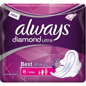ALWAYS ULTRA DIAMOND -8pcs