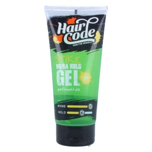 HAIR CODE - MEGA HOLD GEL-250ML