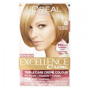 LOREAL EXC HAIR COLOR -8 -LIGHT BLONDE