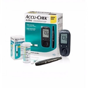 ACCU-CHEK ACTIVE BLOOD SUGAR MONITOR
