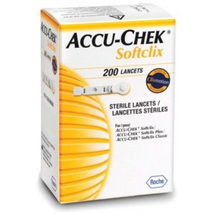 ACCU-CHEK STERILE LANCETS 200 PCS