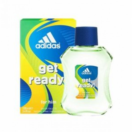 ADIDAS GET READY OR HIM MEN E.D.T 100 ML - 1+1 OFFER