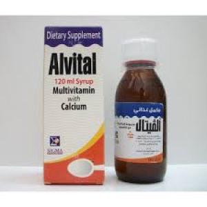 ALVITAL 120ML SYRUP