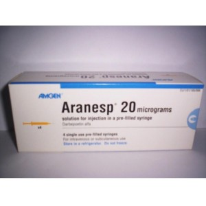 ARANESP 20MCG/0.5ML 4SYRING