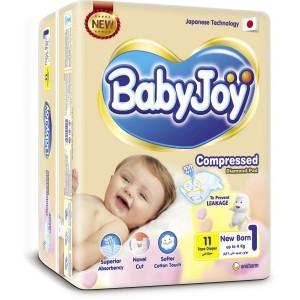 BABY JOY 1 - 11 diapers