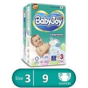 BABY JOY 3 - 9 diapers