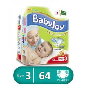 BABY JOY 3-64 diapers