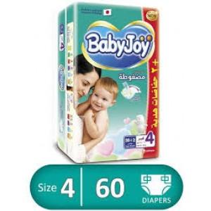 BABY JOY 4- 58+2 diapers