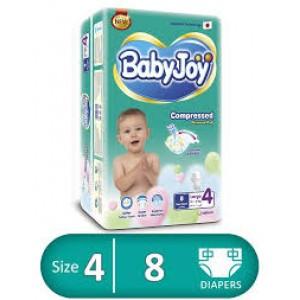 BABY JOY 4-8 diapers