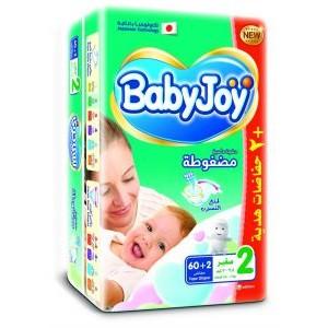 BABY JOY 2/62 DIAPERS