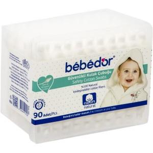 BEBEDOR (459) COTTON SWAPS 90 PCS