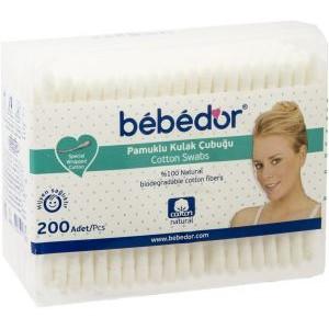 BEBEDOR (462) COTTON SWABS 200 PCS