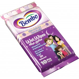 BEMBO WIPES 10 PCS