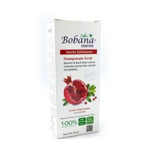 BOBANA POMEGRANATE SCRUB 120GM