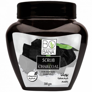 BOBANA SCRUB CHARCOAL 300GM