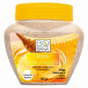 BOBANA SCRUB HONEY COLLAGEN 300GM