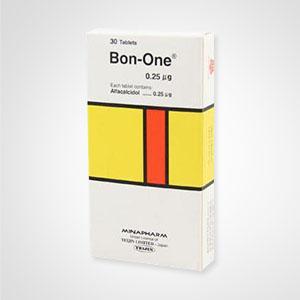 BON ONE 0.25MG 30TAB