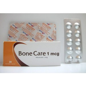 BONE CARE 1MCG 30CAP