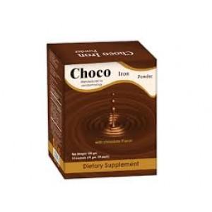 CHOCO IRON POWDER 10 SACHETS