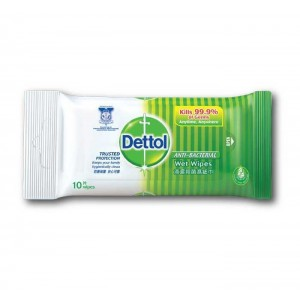 DETTOL WIPES 10 PCS