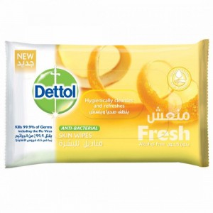 DETTOL WIPES FRESH 10 PCS