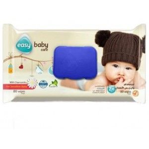 EASY BABY CARE FOR SENSITIVE 80 WIPES