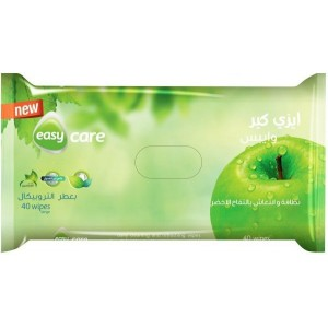 EASY CARE WIPES 40 PCS