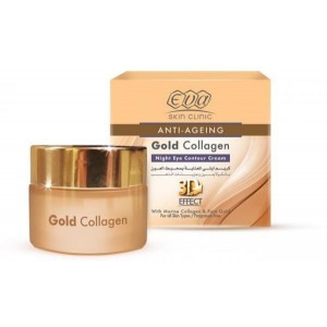 EVA COLLAGEN GOLD NIGHT EYE CREAM 15 ML - 10% OFFER