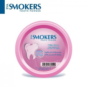 EVA SMOKERS TOOTH POWDER WITH CLOVE FLAVOR 40 GM