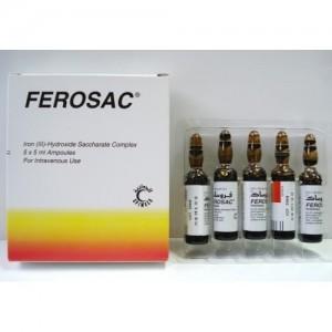 FEROSAC 100MG/5ML I.V 5AMP