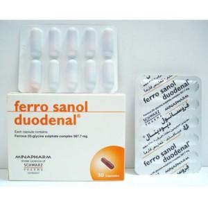 FERRO SANOL DUODENAL 30CAP
