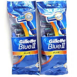 GILLETTE BLUE 2 PLUS DISPOSABLE RAZORS 10+1 PCS