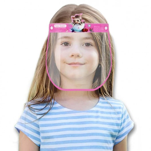 CHILDREN FACE SHIELD (GIRLS