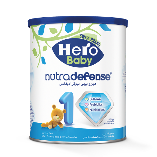 HERO BABY 1 NUTRA DEFENSE MILK 400 G