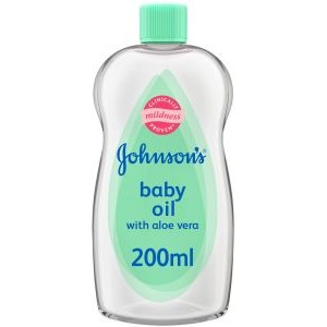 JOHNSON BABY OIL ALOE VERA 200ML