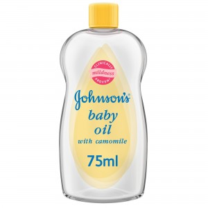 JOHNSON BABY OIL CHAMOMILE 75ML