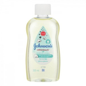 JOHNSON BABY OIL COTTONTOUCH 200ML