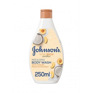 JOHNSON VITA-RICH BODY WASH COCONUT OIL 250ML