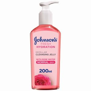JOHNSON'S FRESH MICELLAR CLEANSER GEL REMOVER 200ML