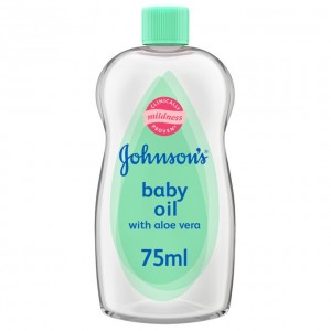 JOHNSONS BABY OIL ALOE VERA 75ML