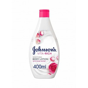 JOHNSONS VITA RICH BODY LOTION WITH ROSE 250 ML - 20 % OFFER