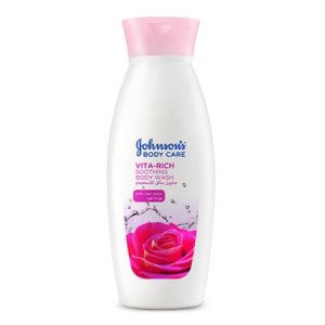 JOHNSONS VITA RICH BODY WASH WITH ROSE 250 ML - 20 % OFFER