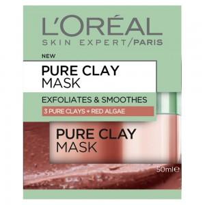 LOREAL CLAY MASK-RED ALGAE -50ML