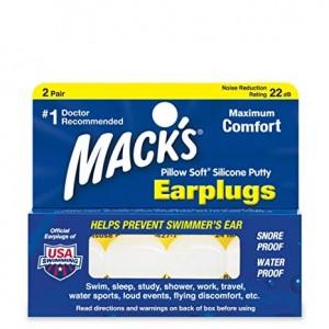 MACK'S PILLOW RUPER EAR PLUGS 2 PAIR