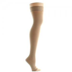 MEDI ABOVE KNEE STOCKING WITH SILICONE TIPS - L