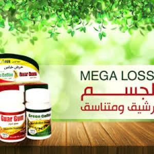 MEGA LOSS GREEN COFFEE/GUAR GUM 300GM