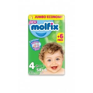 MOLFIX 4 - 58 diapers