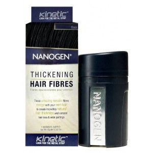 NANOGEN HAIR FIBRES BLACK 15GM